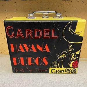 Gardel Havana Puros Cigar Case Box Prop
